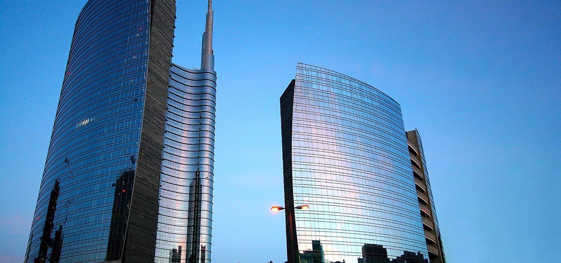Foto dei Grattacieli Porta Nuova a Milano